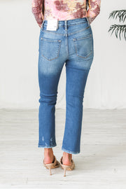 The Kat Kick Flare Jeans - Medium Wash