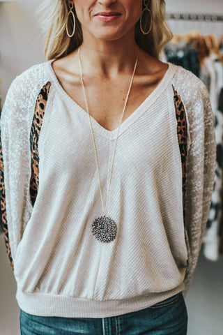 Cross My Heart Cardigan - Beige