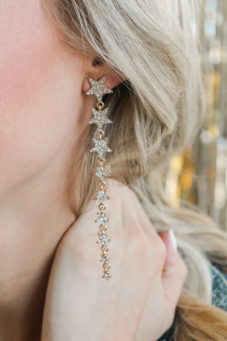 All Is Bright Star Earrings