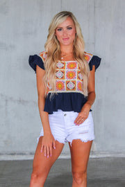 On Point Ruched Skirt