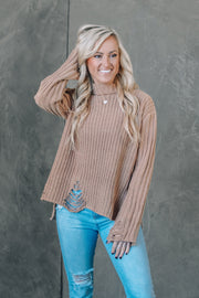 Latte Meet Up Lace Tank