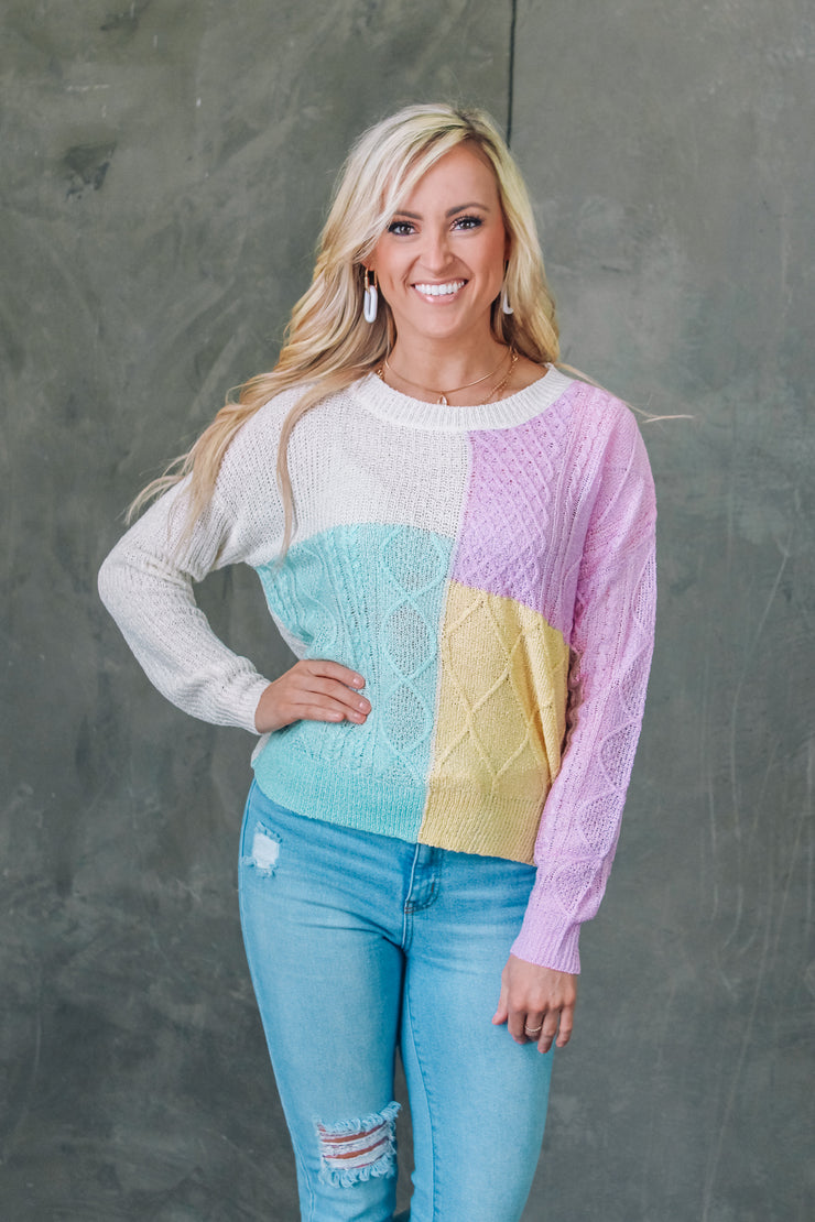 Day Date Peplum Top - Coral