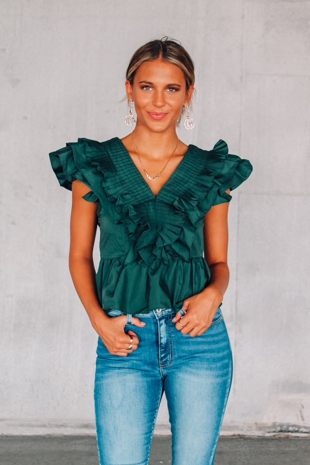 A Cute New Year Off Shoulder Top
