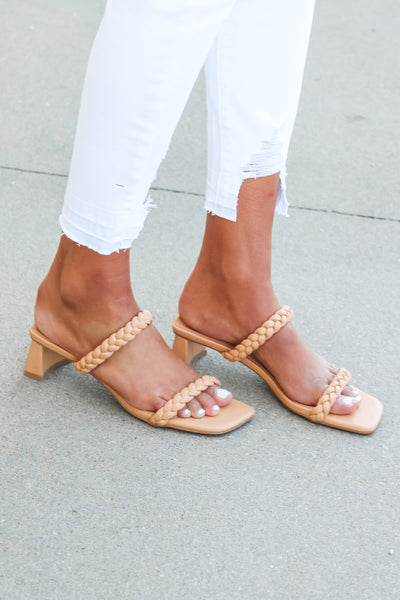 The Shea Braided Heels
