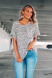 Instant Icon Leopard Blouse