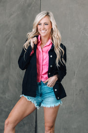 The Karina Distressed White Denim