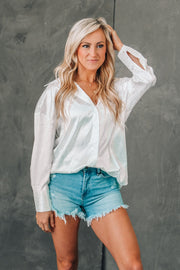Stop & Stare One Shoulder Ribbed Top
