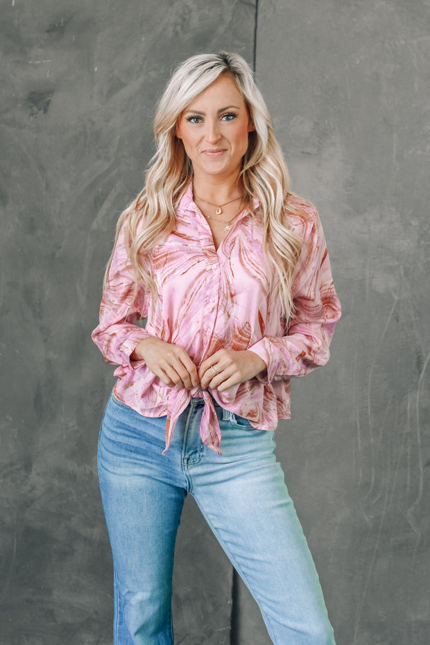 Nine To Wine Satin Cheetah Skirt