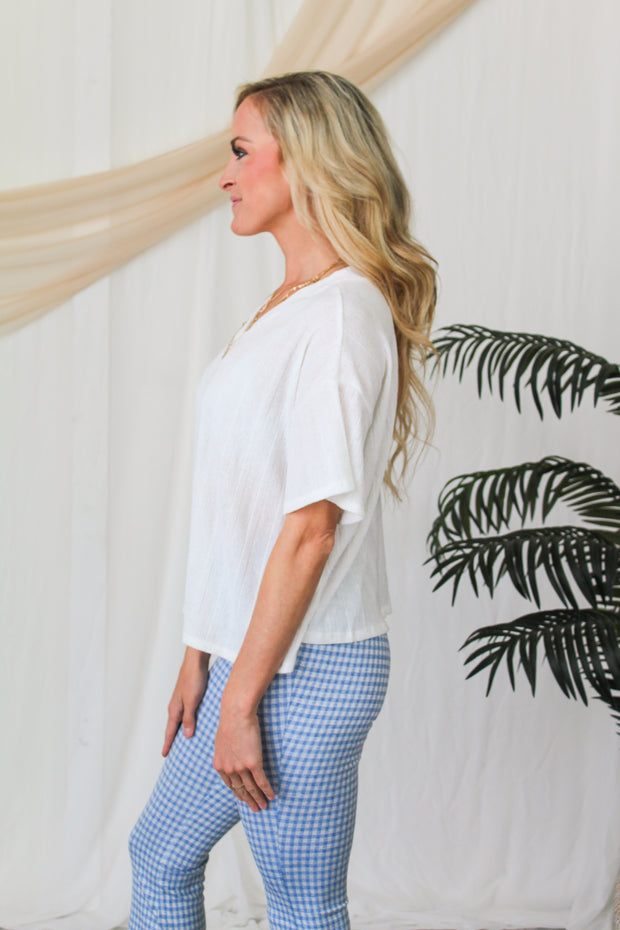 Lot To Love Tiered Top