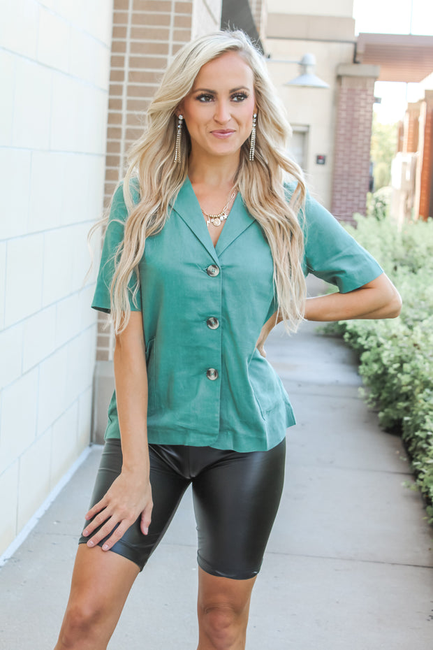 Outlet Stollin' Contrast Top