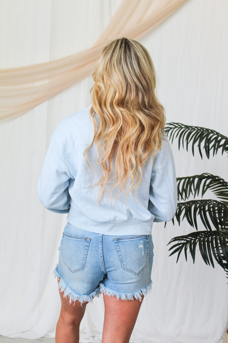 Here For It Lightweight Sweater - Yellow