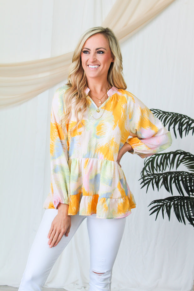 Layered In Love Popcorn Cardi - Sage