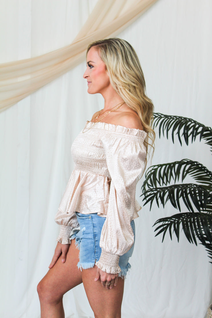 Kiss & Tell Embroidered Top