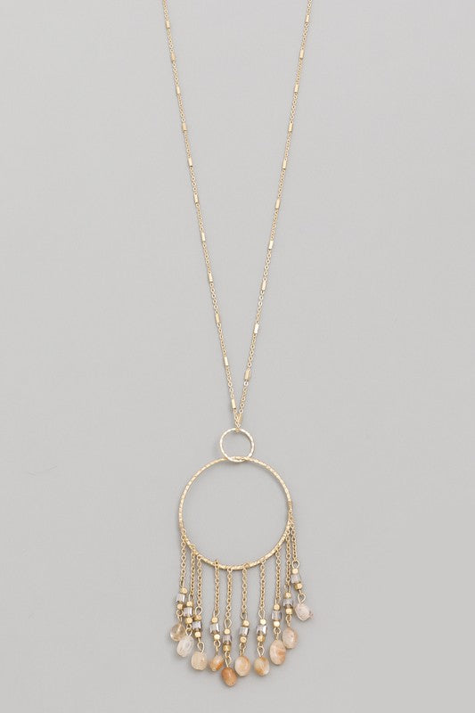 Catchin' Dreams Fringe Necklace