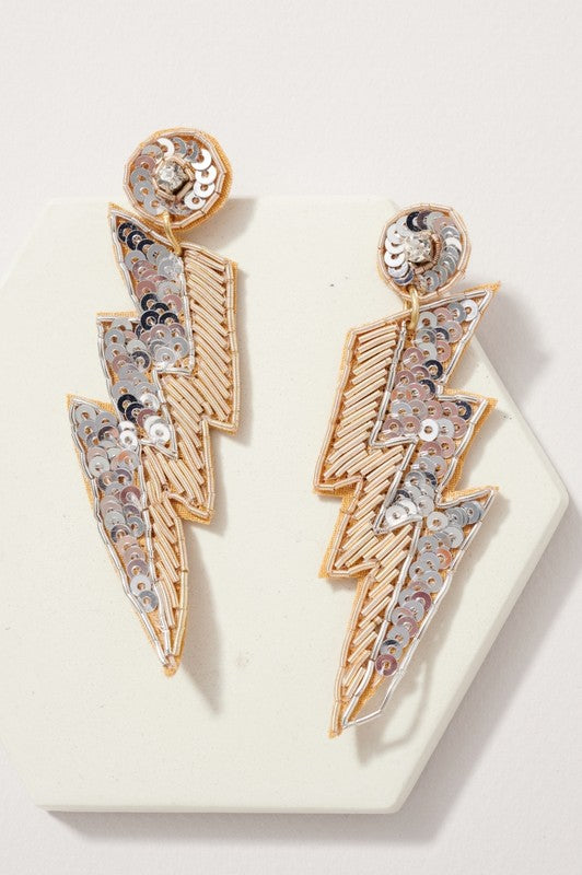 Struck A Chord Earrings