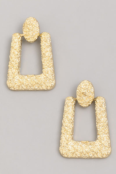 Island Chic Textured Earrings