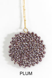 In The Stars Necklace - Plum
