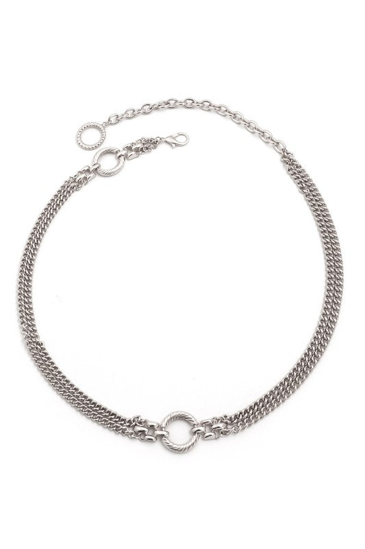 Major Babe Chain Belt - Silver