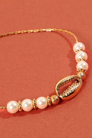 Shell City Pull Tie Bracelet - Gold