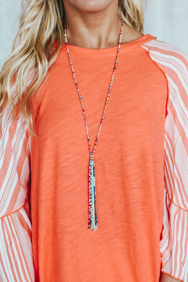 Fiesta Daze Tassel Necklace