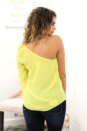 Dress To Impress One Shoulder Blouse