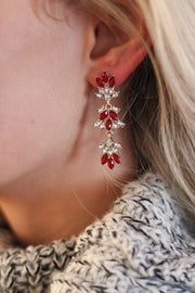Marquise Tiered Earrings