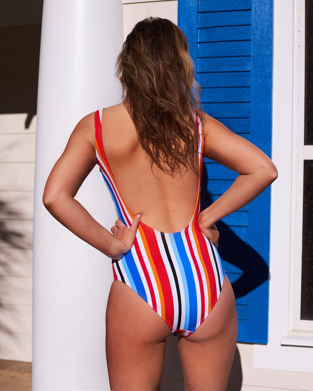 Party In The Palms One Piece Swimsuit