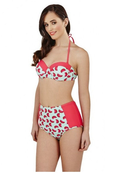 Watermelon Balconette Bikini Set