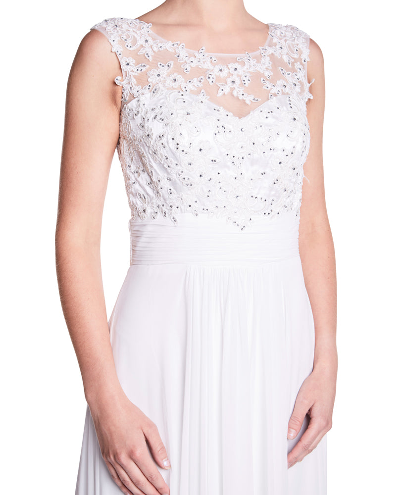 Daisy - Lace Bodice With Crystal Bodice