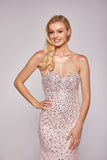 Julia - Sweetheart Hand Beaded Fishtail Dress