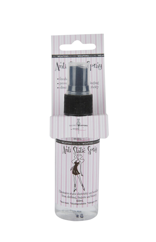 Anti static spray for clothes