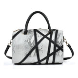 White Sally Young (Hollywood) Losing Control Collection Handbag
