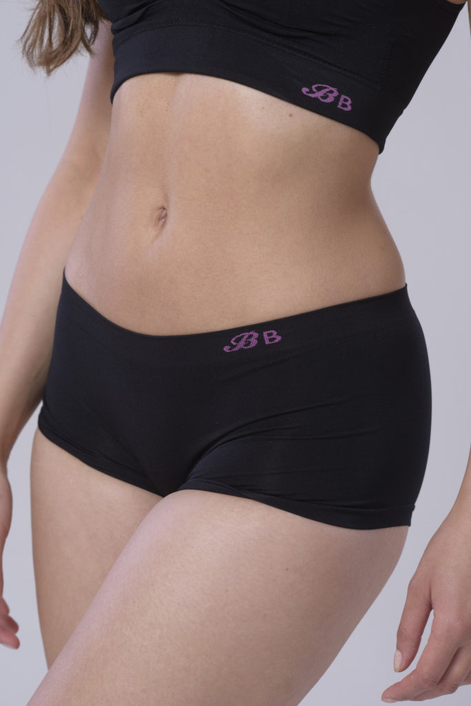 Bridget's Beauties Hipster Boxers - Luxe Black