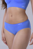 Bridget's Beauties High On Hips Briefs - Electric Blue