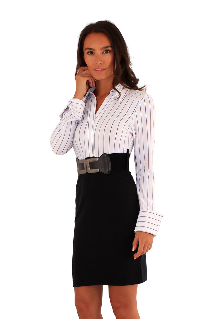 White Shirt Business Dress