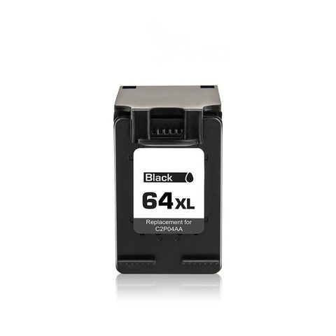 Compatible HP 64XL N9J92AN Black Ink Cartridge High Yield