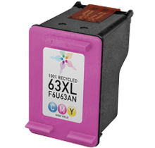 Compatible HP 63XL ( F6U63AN ) High Yield Ink Cartridge Tri-Color