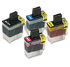 Brother LC-41 Set   compatible ink - Buy Direct!