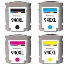 HP C4906ANR/907/908/909 Set   compatible ink - Buy Direct!