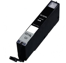 Quest4toner Canon CLI-251XLGY <font color='Grey'><b>Grey</b></font> compatible ink designed for Canon - PIXMA Series ink printers