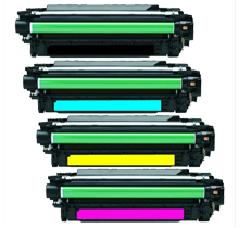 HP CE270/271/272/273 Set   compatible toner - Buy Direct!