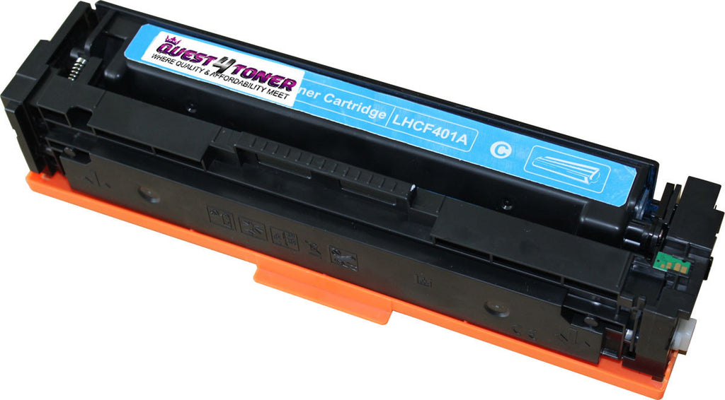 HP CF401A (201A) Compatible Toner Cartridge  designed for HP- Buy Direct!