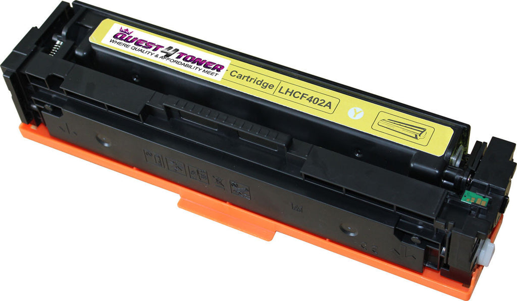 HP CF402A (201A) Compatible Toner Cartridge (Yellow) designed for HP- Buy Direct!