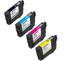Compatible Epson T288XL High Yield Ink  Cartridge Set Black Cyan Magenta Yellow