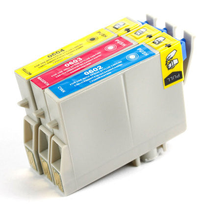 Epson T060 3pk color (C/M/Y) Yellow compatible ink - Buy Direct!
