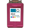 HP 62XL (C2P07AN) Tri-Color Compatible Cartridge High Yield