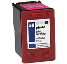 HP C6658AN (#58)  compatible ink - Buy Direct!