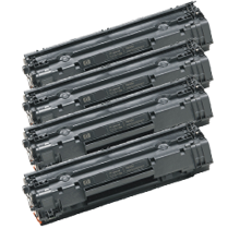HP CB435A 4PK  compatible toner - Buy Direct!