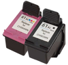 HP CH563WN / CH564WN (HP 61XL) Compatible Ink Cartridge Combo Pack Black Tri-Color High Yield - Buy Direct!
