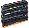 HP CC530A/CC531A/CC532A/CC533A compatible toner 4 pack designed for HP - Buy Direct!